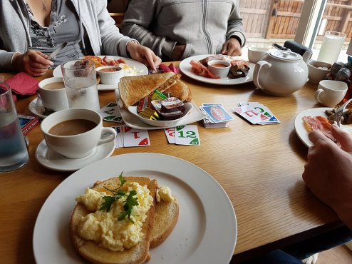 Breakfast at Knights Stainforth